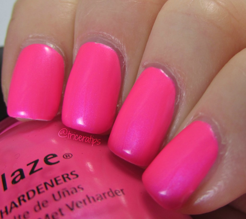 Pink Voltage, showing some shimmer