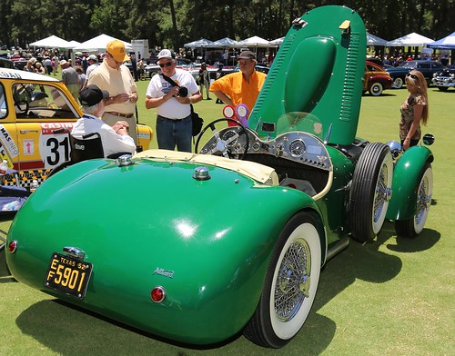 auto show lake green car la texas view rear resort concours spa 52 allard 1952 roadster 2014 conroe delegance torretta of j2x