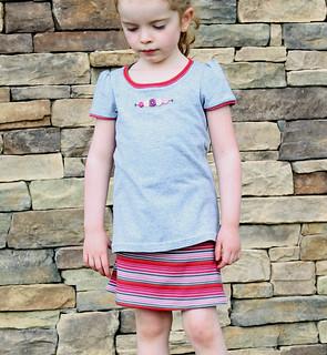 Practically Perfect Gir's Tee & Go To Leggings/Skirt