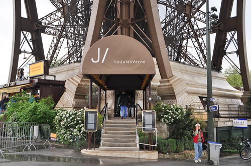 Restaurante Jules Verne - Paris