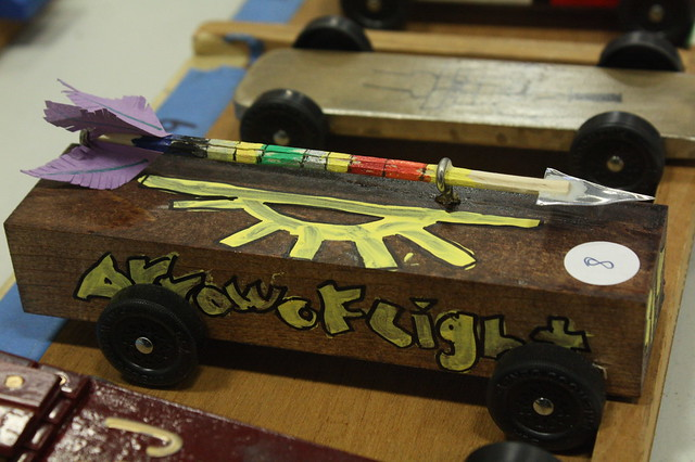 Pinewood Derby 2015