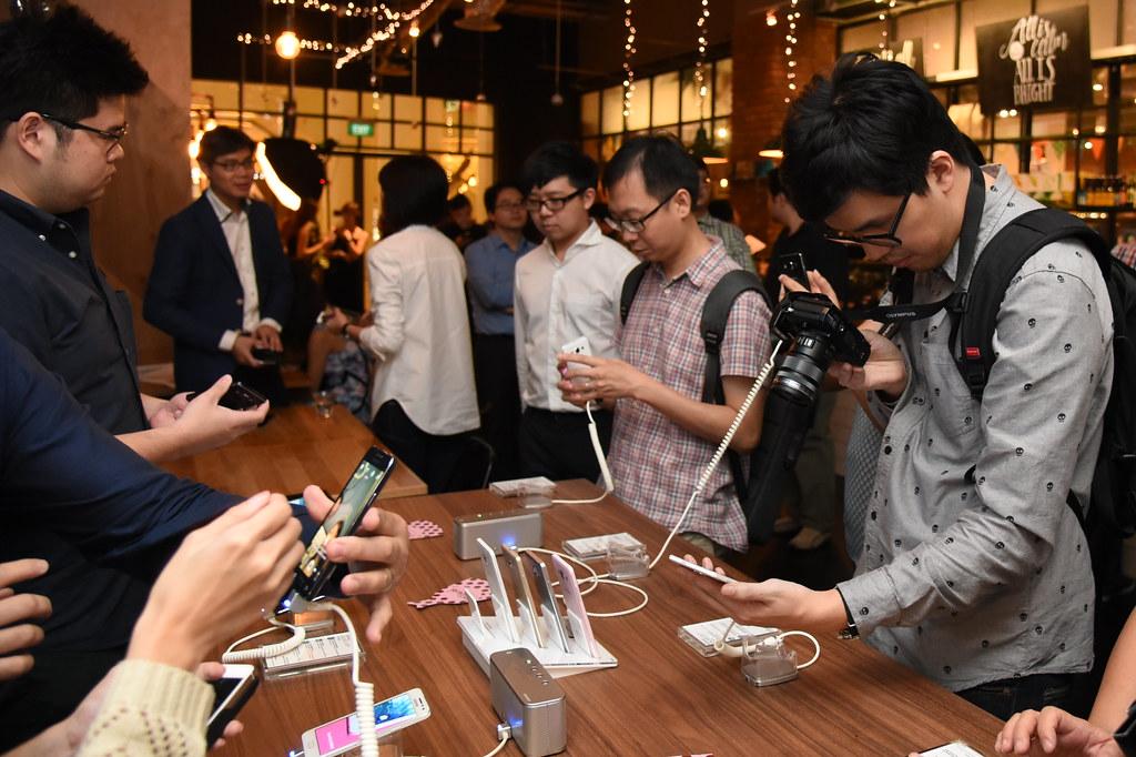 Samsung GALAXY A Series at launch
