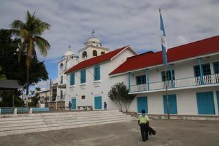 Main Plaza.  Flores, Guatemala