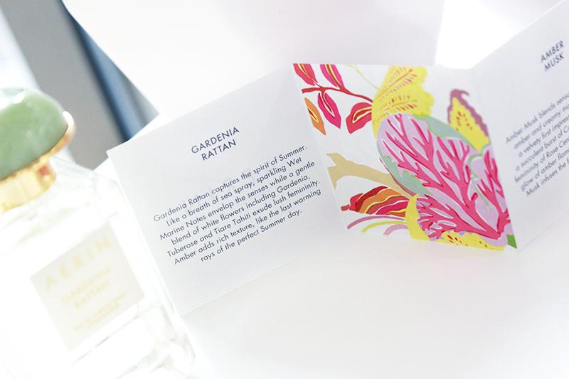 Sun, Beach Walks & Fresh Flowers: Aerin Gardenia Rattan