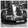 Several million Hong Kong dollars worth of car parked in Happy Valley. Pagani Zonda #supercar