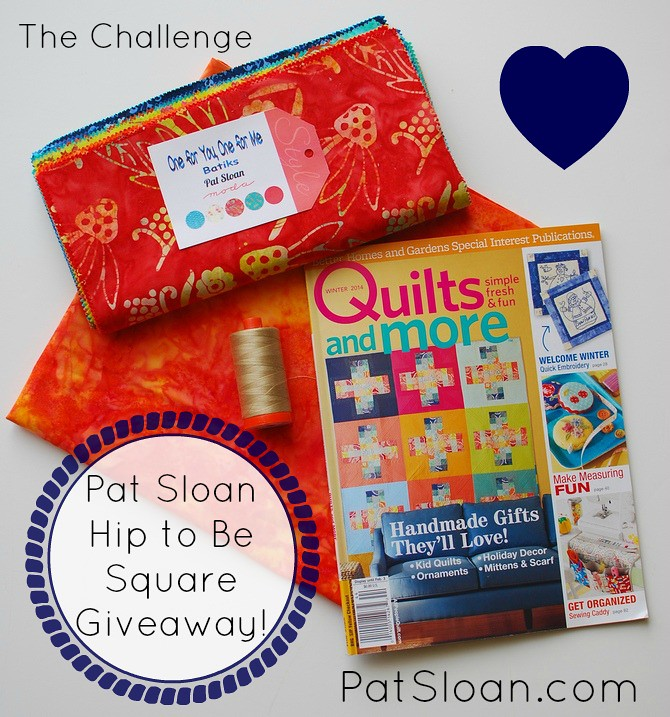 pat sloan hip to be square prize