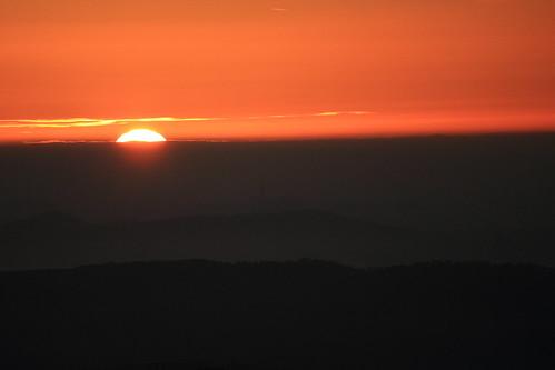 california sunset sky sun clouds canon hills