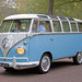 "Volkswagen Typ 2 Microbus Deluxe (Samba) ""23-window"" 1961 (8379) by Le Photiste"