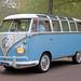"""Volkswagen Typ 2 Microbus Deluxe (Samba) """"23-window"""" 1961 (8379)"""