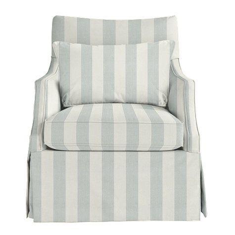pale powder chair