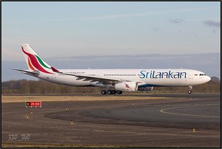 A333 SriLankan Airlines - 4R-ALN ( F-WWCP )  /  4666