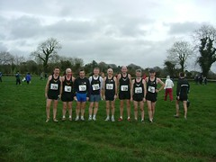A happy looking National Masters team 2006
