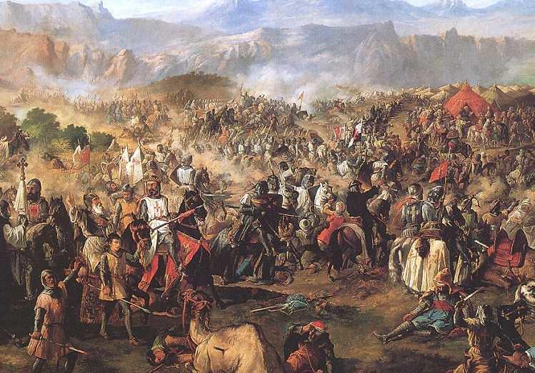 Batalla de las Navas de Tolosa by Francisco de Paula Van Halen