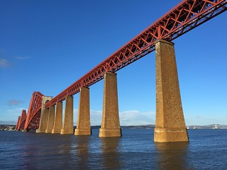 Forth rail bridge | by johnomason