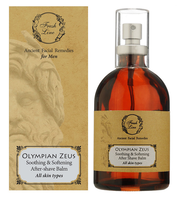 OLYMPIAN ZEUS soothing & softening AFTER SHAVE BALM (ALL SKIN TYPES)