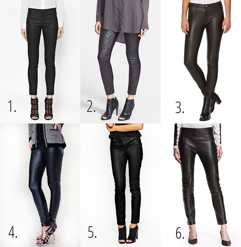 Leather pants picks 2015
