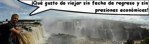Ganando ingresos pasivos en las Cataratas del Iguazú