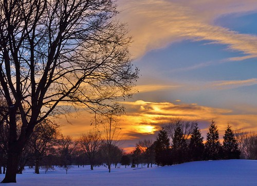 trees winter sunset usa snow clouds us illinois nikon countryclub wheeling chevychase d90 stevelamb 2015feb4