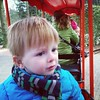 In de trein in de dierentuin