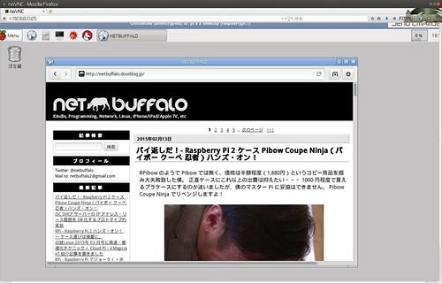 noVNC via Firefox