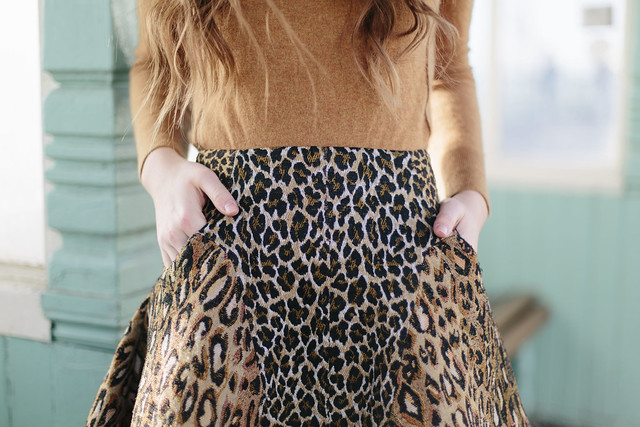 Antipodium Leopard Skirt What Olivia Did