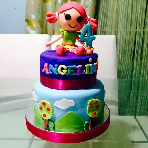 Lalaloopsy Cake by Kristine Miranda