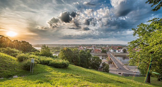 Summer Panorama | Kaunas #155/365 [Explored]
