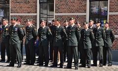 Militaire ceremonie / military ceremony