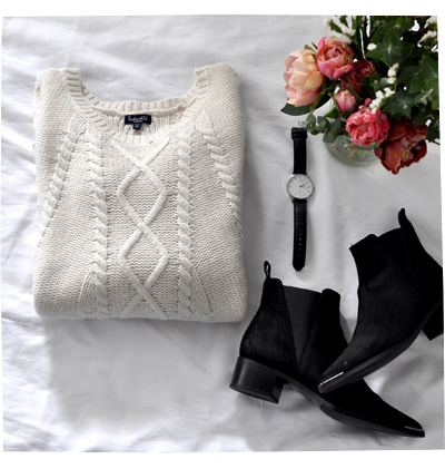 Knit and Boots