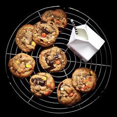 GF Peanut Butter Reese's Cookies