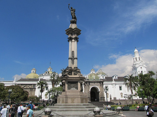 Quito: la Plaza de la Independencia