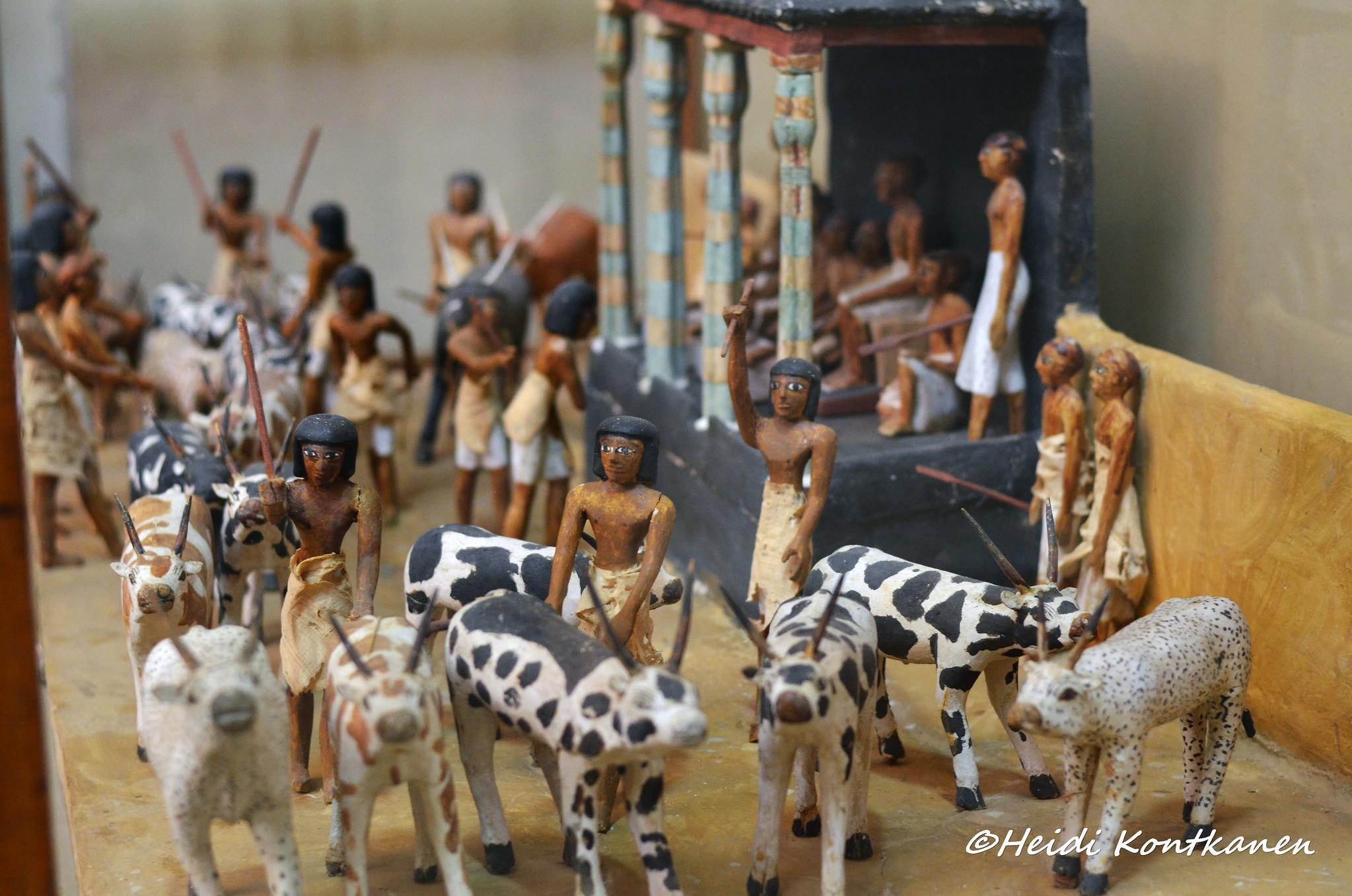 Model figures of Meketre