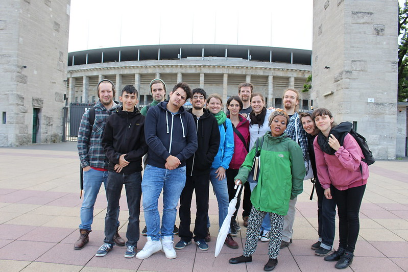 06. Tag (Fr. 17.06) - Olympiastadionsführung