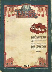 Provinztheater Autogrammkarte hinten