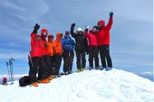 Ski-Trekking. Ararat-Gipfel, 5165 m. Foto: Günther Härter.