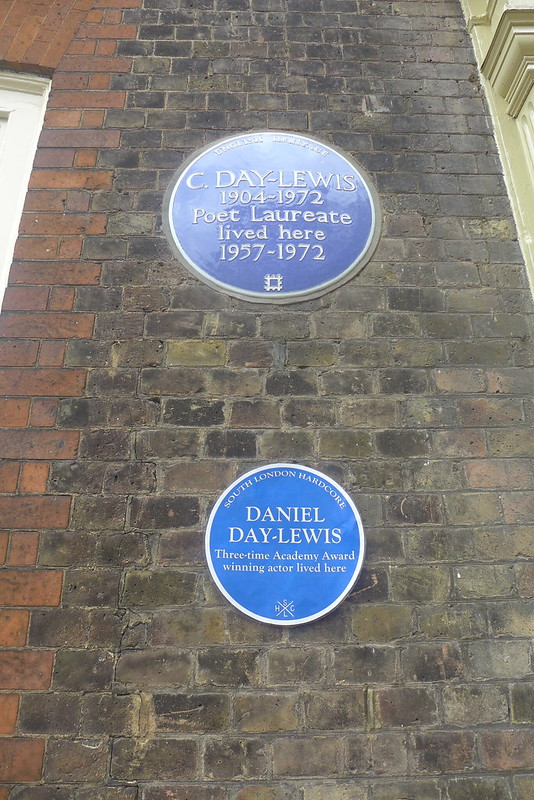 Daniel and Cecil Day-Lewis plaques