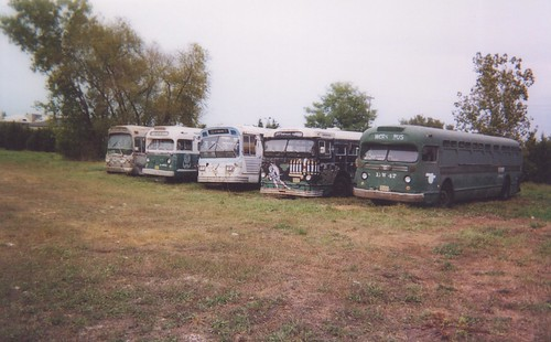 The Midwest Transit Bus Museum.  Cresthill Illinois.  September 2001. by Eddie from Chicago