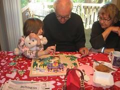 Nana and Grandpa in Oregon