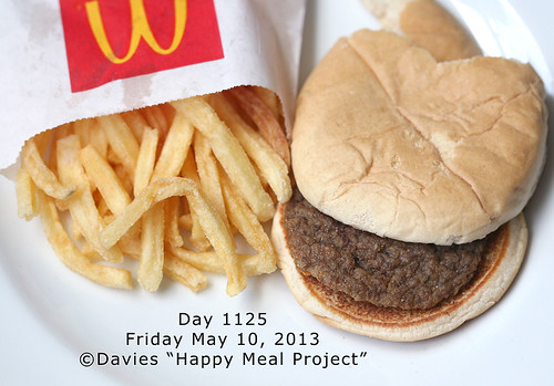 Day 1125 Happy Meal Project ©Sally Davies