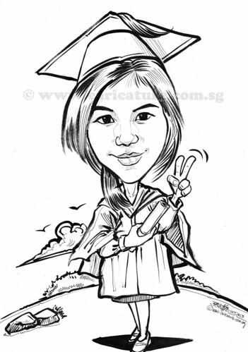 graduate caricature 11052013