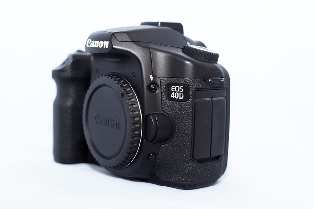 how to use canon eos 40d