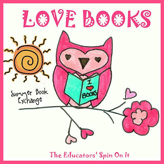 love books summer button