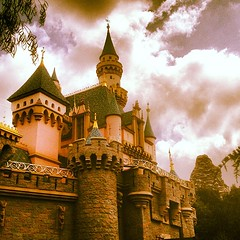 Sleeping beauty castle #justgothappier #disneyland