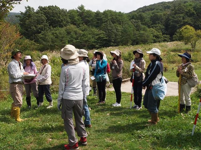 調査の最後には,山場先生から,広島県が実施している調査について紹介していただいた.