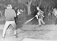 MD Student Extinguished Tear Gas Canister: May 1970