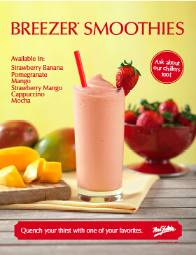Mrs. Fields Breezer Smoothies