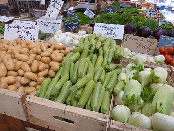 légumes du pays
