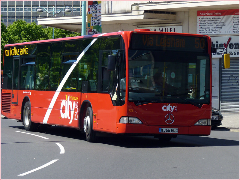 Plymouth Citybus 080 WJ55HLG