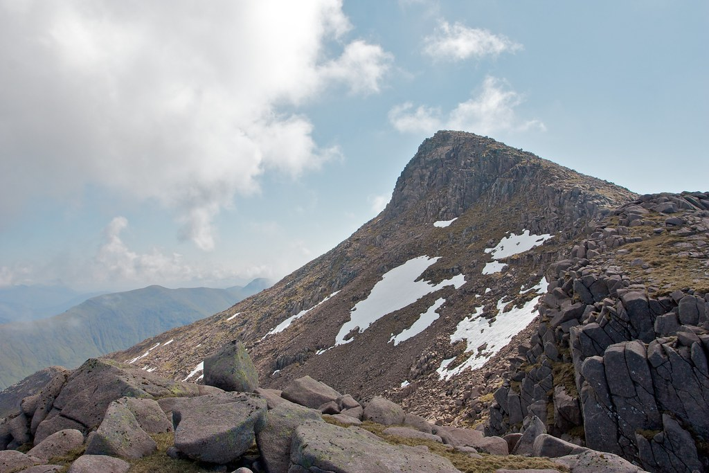 The dramatic west face of Ben Cruachan