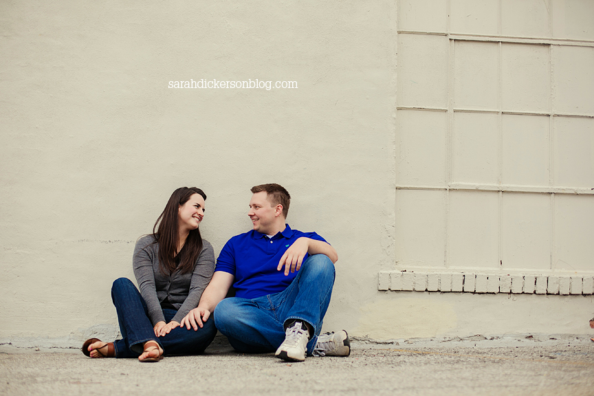 River Market Kansas City engagement session